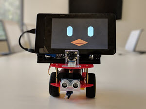 Beanbird Bot: Building a web app enabled robot with ROS2 and webOS