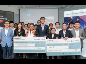 Infineon LG </> Make Hackathon in Singapore