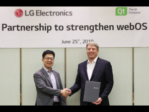 Strategic Partnership to Strengthen webOS Ecosystem
